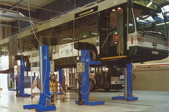 Mobile Column Electromechanical Lifts